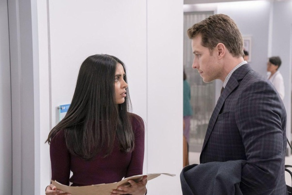 Parveen-Kaur-and-Josh-Dallas-in-Manifest-Season-2-Episode-3